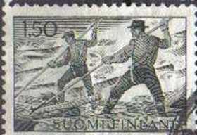 FINLAND, 1963, used 1.50.pennia values