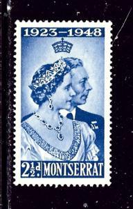 Montserrat 106 MNH 1948 KGVI Silver Wedding low value