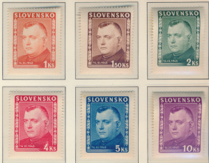 Slovakia Stamps Scott #110 To 115, Mint Never Hinged - Free U.S. Shipping, Fr...