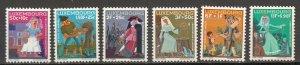 Luxembourg - 1966 Fairy Tale Sc# B252/B257 - MNH (7097)