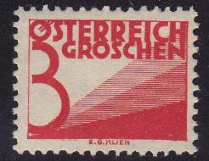 Austria - 1925 - Scott #J134 - mint - Numeral
