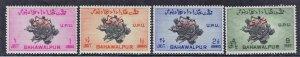BAHAWALPUR,PAKISTAN SC# 025-28 **MH** 1949  SEE SCAN