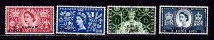 Kuwait 113-16 MNH 1953 QEII Coronation   #2
