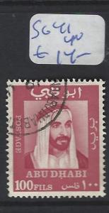 ABU DHABI  (P2202B)  SHEIKH 100F     SG 41  VFU