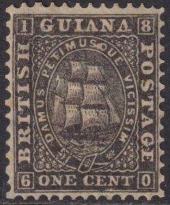 British Guiana 1866 SC 45 Mint