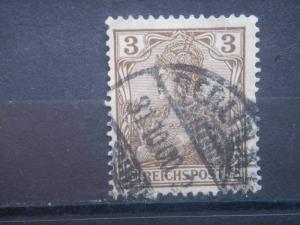 GERMANY, Empire, 1900, used 3pf, Germania Scott 53