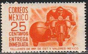 MEXICO E14, 25cents 1950 Definitive 2nd Printing wmk 300. MINT, NH. F-VF.
