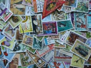 Internationals WW collection breakdown, Uganda 90 different