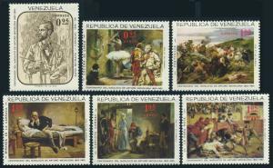 Venezuela 899-901,C927-C929,MNH.Mi 1661-1666. Arturo Michelena,painter,1966.