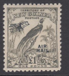 NEW GUINEA C43 SG 203 MINT NEVER HINGED OG ** NO FAULTS SUPERB !