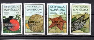 Barbuda 750-753 MNH