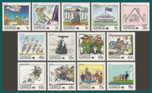 Australia 1988 Living Together (2), MNH #1053-1177,SG1111-SG1135