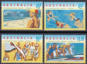 Australia  #1361-4  MNH CV $5.20 (A19785)