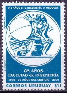 Uruguay. 2001. 2593. School of Engineers. MNH.