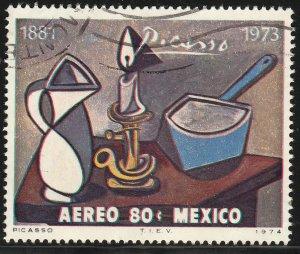 MEXICO C428 In Memoriam Pablo Picasso - painter sculptor USED. F-VF. (1300)