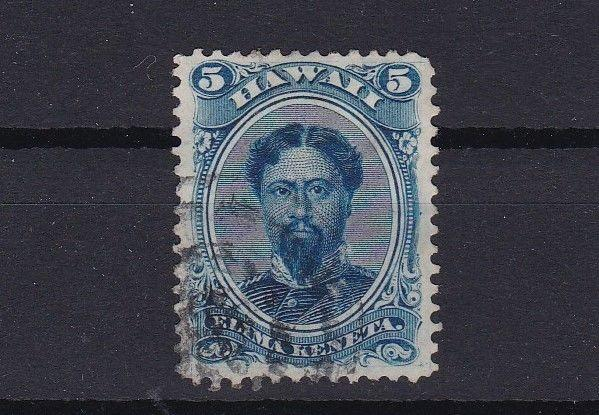 hawaii 1864 5 cent used stamp ref r13071