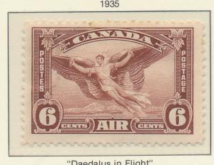Canada Stamp Scott #C-5, Mint Hinged, Air Mail - Free U.S. Shipping, Free Wor...
