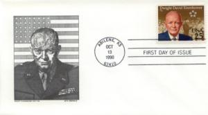 1990 Dwight Eisenhower Centenary (Scott 2513)  DeSpain #4