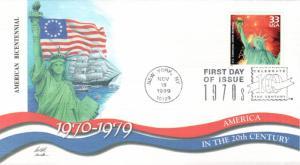 #3189f US Bicentennial Fleetwood FDC