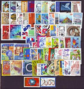 J20371  jlstamps 1998-9 france mnh  lot very good value#