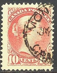 Canada #45 used  VF  CDS