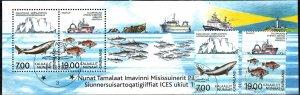 Greenland #401-2, 402a F-VF Used CV $17.00 (X5516L)