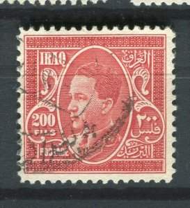 IRAQ; 1934 early Ghazi issue used 200f. value