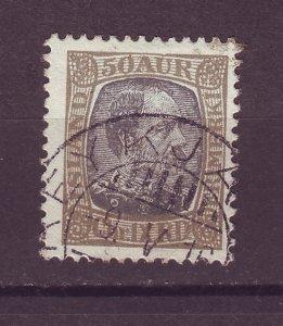J25580 JLstamps 1902-4 iceland used #43 king