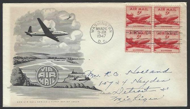 USA #C33 First Day Cover