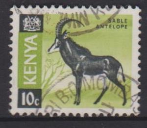 Kenya Sc#21 Used