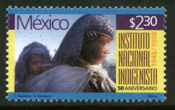 MEXICO 2110, Natl. Institute for Native Peoples. MINT, NH. VF. (69)