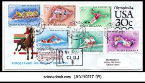 USA - 2002 SPECIAL AEROGRAMME with ST. LUCIA RAILWAY stamps