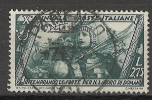 COLLECTION LOT # 5485 ITALY #304 1932 CV+$40