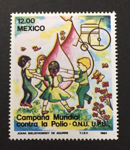 Mexico 1984 #1345,Fight Against Polio, MNH.