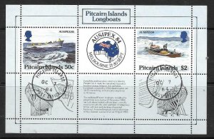 PITCAIRN ISLANDS SGMS263 1984 AUSIPEX FINE USED