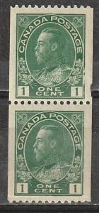 #131 Canada Mint OGNH Admiral Coil pair