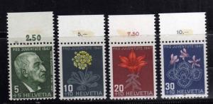 SWITZERLAND SUISSE SCHWEIZ SVIZZERA 1947 PRO JUVENTUTE POUR LA JEUNESSE COMPL...