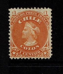 Chile SC# 15 - Mint No Gum - Lot 090317