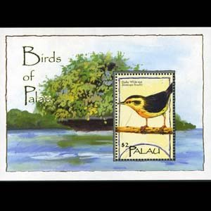 PALAU 2004 - Scott# 792 S/S Bird NH