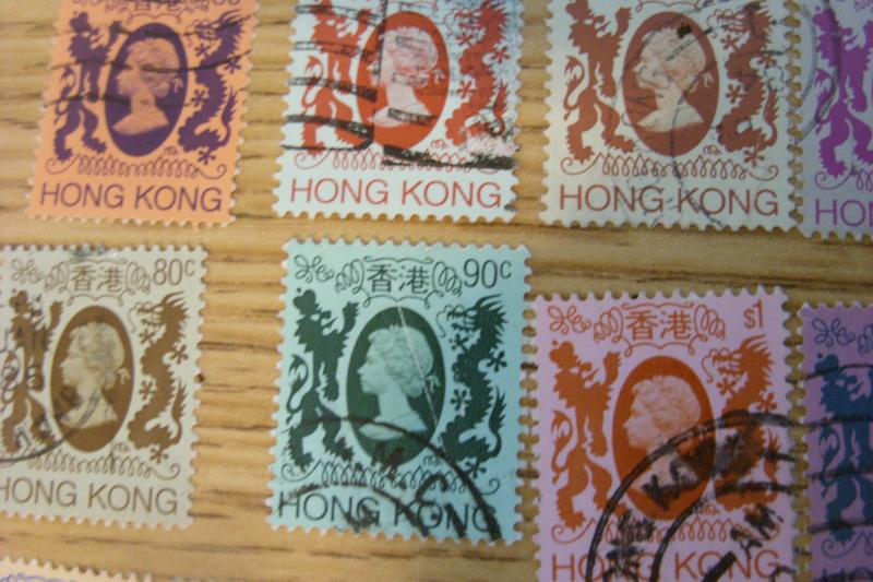 1972-82 Hong Kong Stamps