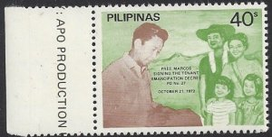 Scott 1605 (Philippines) -- MNH, with selvage