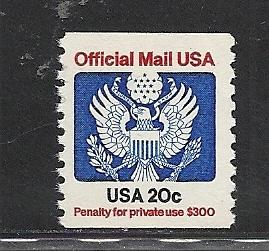 United States #O135 mnh Scott cv $1.75 Official