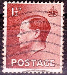 Great Britain -England - #232 - KEVIII - 1936 - VFU - CV$0.35