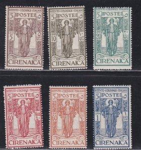Cyrenacia # B7-12, Colonial Institute, Hinged, 1/2 Cat.