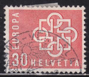 Switzerland 374 European Unity 1959