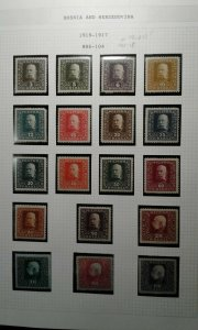 Bosnia #86-104 mint hinged e208 10739