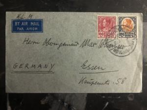 1960s Bangkok Thailand Airmail Cover to Essen Germany