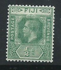 Fiji  GV  SG 126  MH