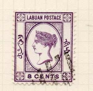 Labuan 1894 Early Issue Fine Used 8c. 277741