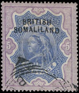 Somaliland Protectorate Scott 12d Gibbons 13a Used Stamp
